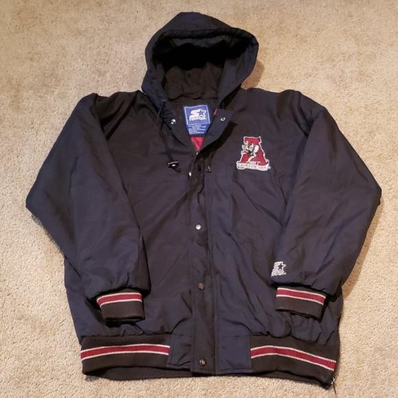 STARTER Other - Vtg 90s Alabama ROLL TIDE Starter Jacket sz L